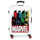 Marvel Los Vengadores Power Maleta Mediana Multicolor 48x68x26 cms Rígida ABS Cierre...