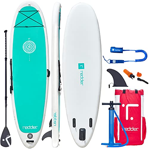 Paddle Board 10'8' Inflatable Stand Up Paddle Boards for Adults Yoga SUP Board with Premium SUP Accessories Paddle, Hand...