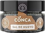 De la Conca - Escamas de sal BIO - Negra con pétalos