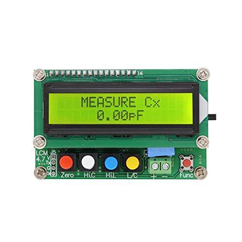 XIYI  LC-100AデジタルLCD静電容量インダクタンスメーターLCメーター1pF-100mF 1uH-100H 電子アクセサリー