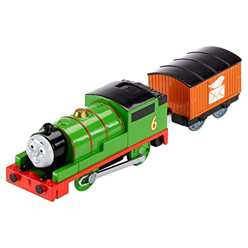 Thomas & Friends - Locomotora motorizada, Personaje Principal Percy (Mattel BML07)