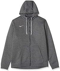 Nike Club 19 Chaqueta para Hombre, Gris (Charcoal Heather/Anthracite/White/White 071), 2XL
