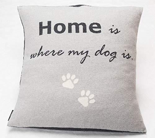 David Fussenegger NOVA Hundekissenhülle Home is Where My Dog is Filz 70/70