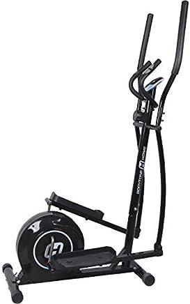BT BODYTONE - DE10 - Bicicleta Eliptica para Fitness en Casa - Display Led y Pulsómetro