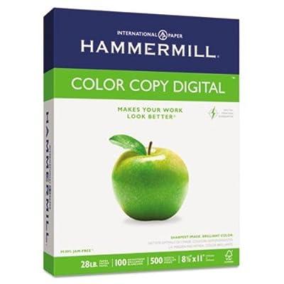 10246-7 Copy Paper, 100 Brightness, 28lb, 8 1/2 X 11, Photo White, 500/ream