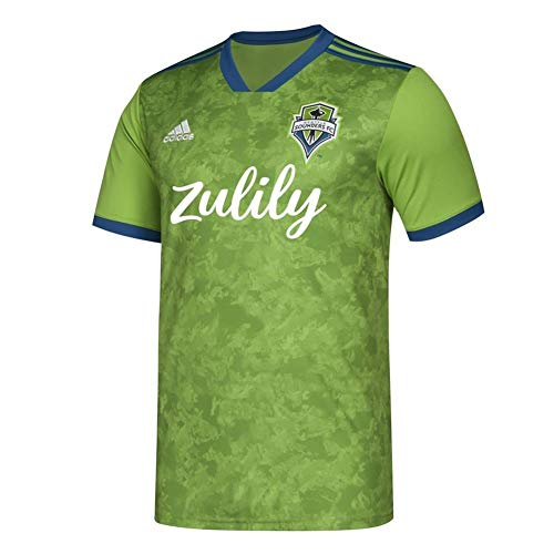 adidas Men's Seattle Sounders FC Replica Jersey 2019 Home Kit (Small)