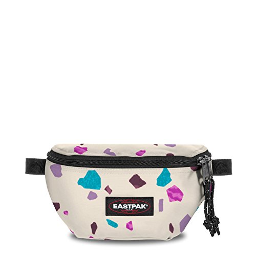 Eastpak SPRINGER Borsa Messenger, 23 cm, 2 liters, Multicolore (Terro White)