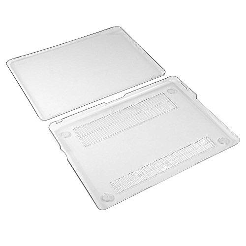 Asixx Funda rígida para ordenador portátil, cristal transparente, ultrafino, de plástico, suave, suave, para Mac Air de 13,3 pulgadas