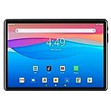 GAOword Tableta De 10 Pulgadas Android 10.0 con Doble Tarjeta SIM Y Cámara Pantalla IPS HD De 6GB + 32GB 1280 * 800 WiFi Bluetooth GPS GMS 5000Mah Negro