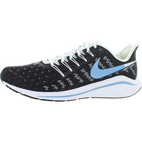 Nike Women's Running Shoes, Black (Black/Lt Blue-Half Blue-White-Chrome Yellow 007), 6.5 us
