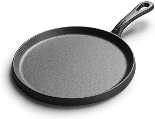 teppanyaki Grill, Oneindige Frypan 25cm – Inductie Niet Stick Koekenpan – Hard Geanodiseerd Aluminium IJzer – Inductie, Oven en Vaatwasserbestendig