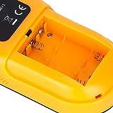 Detector de metales 3 en 1 Escáner de pared 3 en 1 Fácil de leer para madera, metal(yellow)