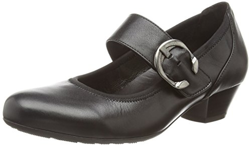 Gabor Shoes Damen Trotteur Pumps, schwarz 57), 39 EU