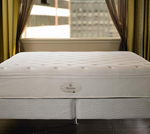 "Sheraton Mattress & Box Spring - 13"" Pocket Coil Mattress with Quilted Plush Top - Standard 8.75"" Box Spring - Queen"