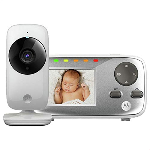 Babá Eletrônica Digital com Câmera MBP482, Motorola, Branco, Bivolt