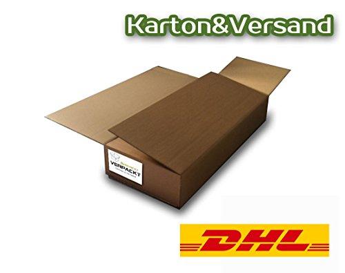 Geschickt Verpackt DHL-Gitarrenversandset- Gitarrenkarton + Luftpolsterfolie + DHL-Versandschein