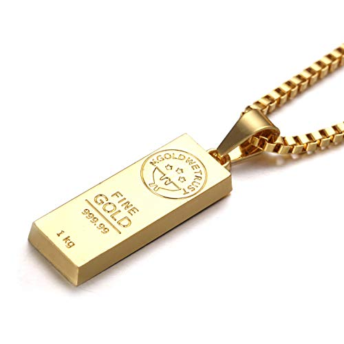 Hip Hop Rapper Faux Gold Chain Necklace Chunky Necklace Chain for 80's,...