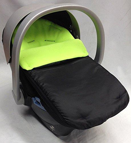 Asiento de coche para saco/Cosy Toes Compatible con Mamas y Papas Lime