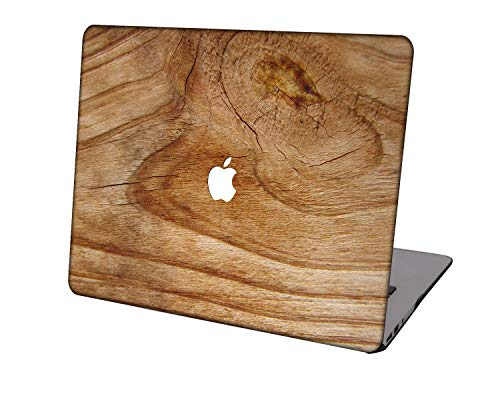 Laptop Case for Newest MacBook Pro 15 inch Model A1707/A1990,Neo-wows Plastic Ultra Slim Light Hard Shell Cover Compatible Macbook Pro 15 inch,Wood grain A 18