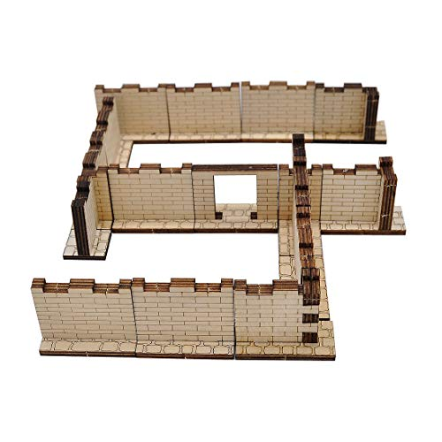 Laser Cut Modular Terrain Tiles