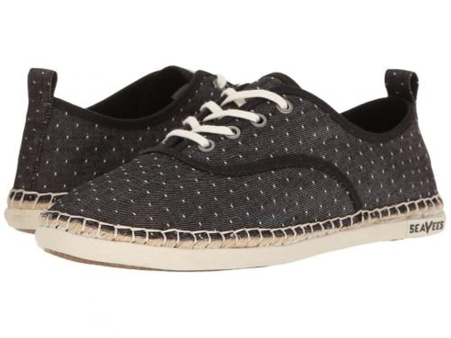ささいな素子見積りSeaVees(シービーズ) レディース 女性用 シューズ 靴 スニーカー 運動靴 07/60 Sorrento Sand Shoe - Black [並行輸入品]