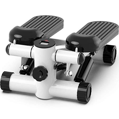 Elliptische Maschine Crosstrainer Mini Laufband Wandern Stepper Heimfitnessgeräte Mini Ofenrohr Maschine Haushalt silent Gewichtsverlust Maschine Gesundheit Behandlung (mit Anti-Rutsch-Matte + Seil) (