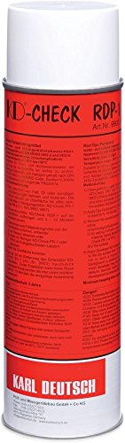 Farbeindringmittel-Spray 500ml rot KD-Check RDP-1 | 4317784251020