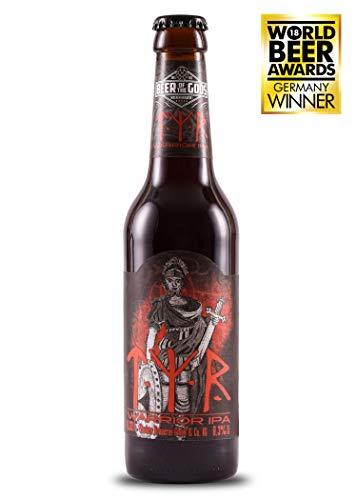 WACKEN BRAUEREI Double India Pale Ale Craft Beer Box 6 x 0,33 l Flasche | TYR | Viking Craftbeer Set Gift for Men | Wikinger Kraft Bier Geschenk für Männer | Party Festival Heavy Metal - 2