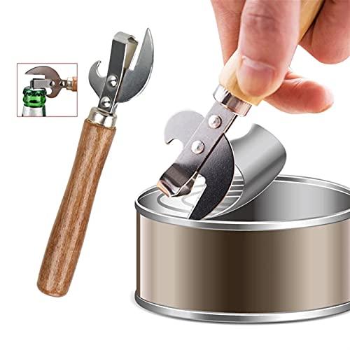 liushop Apriscatole Apristitori Multifunzione Manuale Tagliati in Acciaio Inox in Acciaio Inox in Acciaio Inox Utensili da Cucina Birra Bottle Opener Gadget