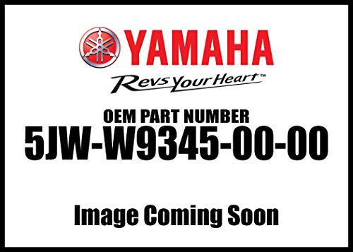 Yamaha 5JW-W9345-00-00 Fjr Case Yamaha Logo; ATV Motorcycle Snow Mobile Scooter Parts