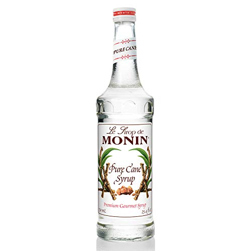 Monin - Pure Cane Syrup, Pure and Sweet, Great for Coffee, Tea, and Specialty Cocktails, Gluten-Free, Vegan, Non-GMO (750 Milliliters)