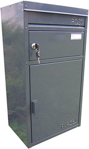 Paketbriefkasten Parcelbox Safepost PB45 Anthrazitgrau