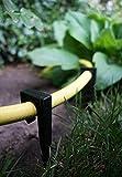 Generisch Schlauchanker für Schläuche bis 22mm und Micro Drip 1/2 sowie 3/16 Zoll Bodenanker Schlauchhalter Rohrhalter Anker Tropfschlauch Perlschlauch Gartenschlauch Schlauch