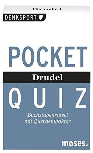 Pocket Quiz - Drudel: Buchstabenrätsel mit Querdenkfaktor (Pocket Quiz / Ab 12 Jahre /Erwachsene)