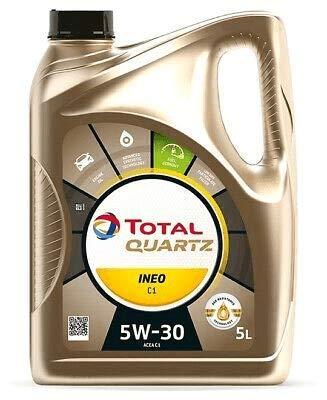 TOTAL QUARTZ INEO C1 5W30 5 LITROS El aceite de última generación para FORD, JAGUAR Y LAND ROVER