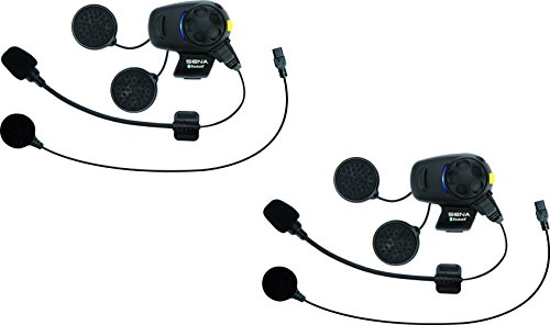 Sena SMH5D-FM-UNIV Casque Audio & Intercom, Pack Double