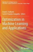 Optimization in Machine Learning and Applications Front Cover