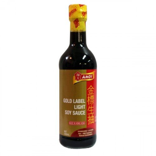 AMOY Gold Label Light Sojasaus 500 ml