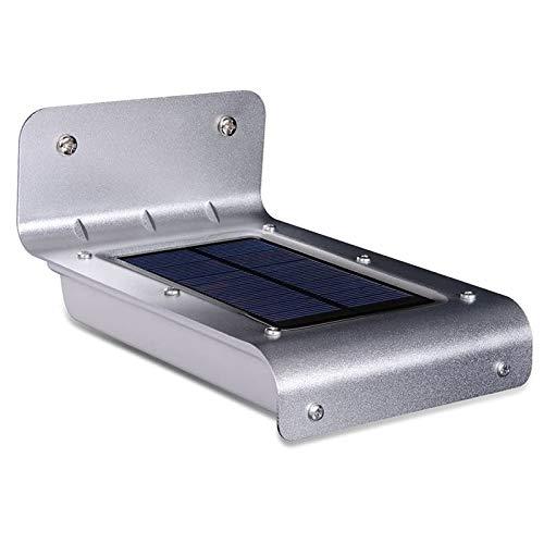 KAPAYONO Luces de pared con sensor de movimiento con energía solar LED Luces de porche exteriores impermeables IPX65 para hogar, entrada de auto, patio, terraza, patio (16 LED)