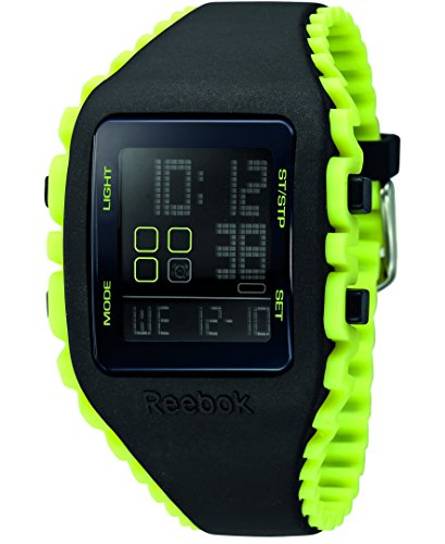 Reebok Workout Z1G Unisex Silicone Alarm, Chronograph Watch RF-WZ1-G9-PBIY-BY