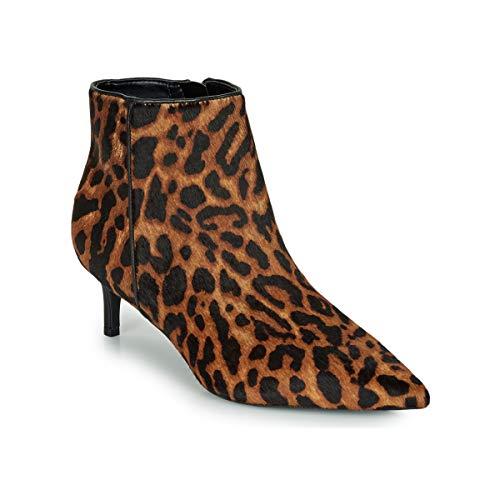 LAUREN RALPH LAUREN SAYBROOK III-BOOTS-DRESS Enkellaarzen/Low boots dames Luipaard Enkellaarzen