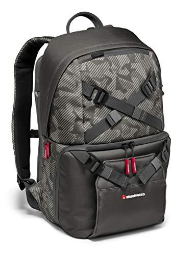 Manfrotto MB OL-BP-30 Noreg mochila para cámara sin espejo con lente adjunta, lentes adicionales, trípode de viaje, kit combo DJI Mavic Pro, portátil, tableta, gris
