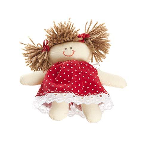 Boneca Pit, Quarto Bebê Infantil Menina, Potinho de Mel, Vermelho