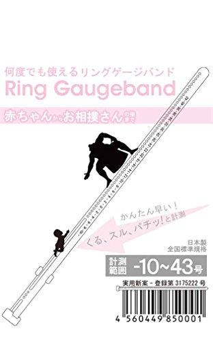 『リングゲージバンド 日本製 指のサイズ計測用(指輪用)-10~43号』の5枚目の画像