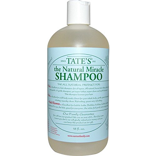 Tate's The Natural Miracle Shampoo, 18 fl. oz. by Tate's The Natural Miracle