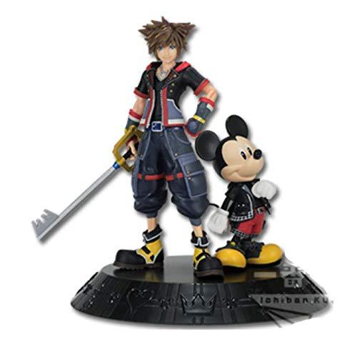 Banpresto ichibankuji KINGDOM HEARTS A prize Sora & Mickey Statue figure 15cm