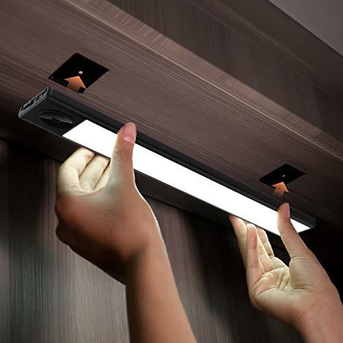 ORPERSIST Led Luces con Sensor De Movimiento,USB Recargable Luz Nocturna,Nocturna InaláMbrica PortáTil,para Armario Pasillo Cocina Escalera Garaje SóTano Y Emergencias