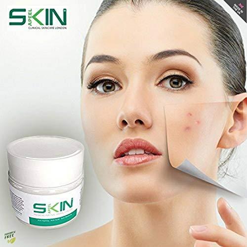 Creme hydratante Skinapeel à la bave d'escargot – Creme régénératrice anti ride, anti acné pour une peau tonifiée 0 défauts, 50ml