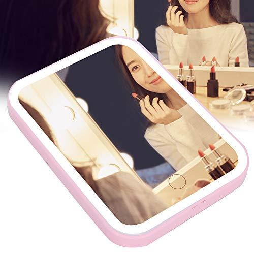 Miroir de Maquillage Professionnel à LED, Miroir de Maquillage Pliant, Miroir de Maquillage, Miroir de Maquillage de Bureau, Outils de Beauté pour le Dessus de Table de Salle de Bain de Voyage