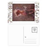 光のxjj油絵 公式ポストカードセットサンクスカード郵送側20個